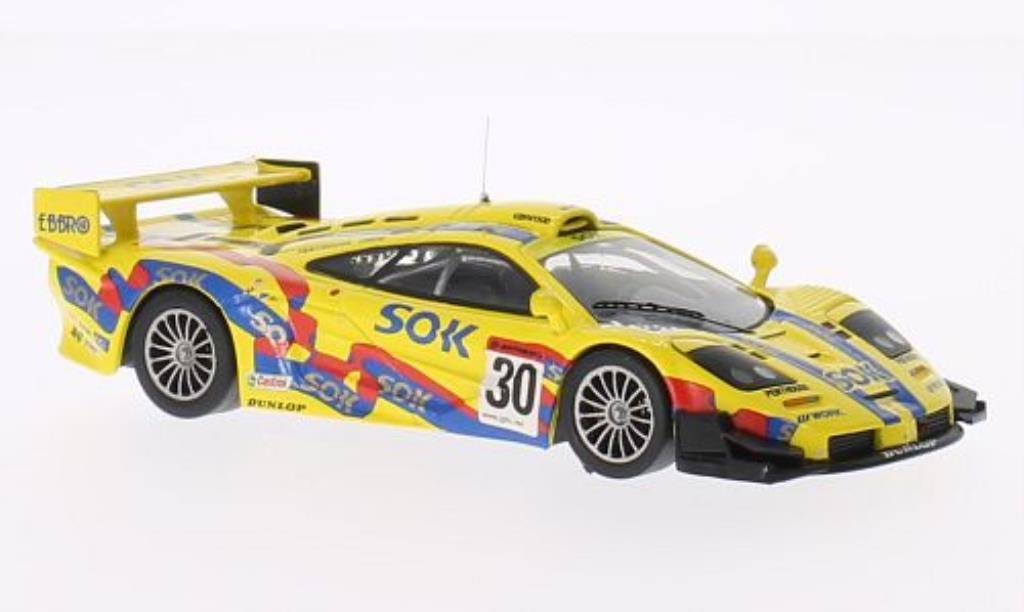 McLaren F1 1/43 IXO GTR No.30 SuperGT Motegi 2002 /H.Kurosewa miniature