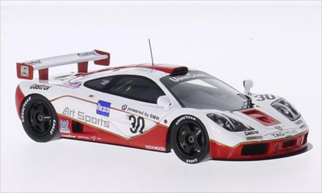 McLaren F1 1/43 Spark GTR No.30 Ueno Clinic 24h Le Mans 1996 /P.Kox miniature