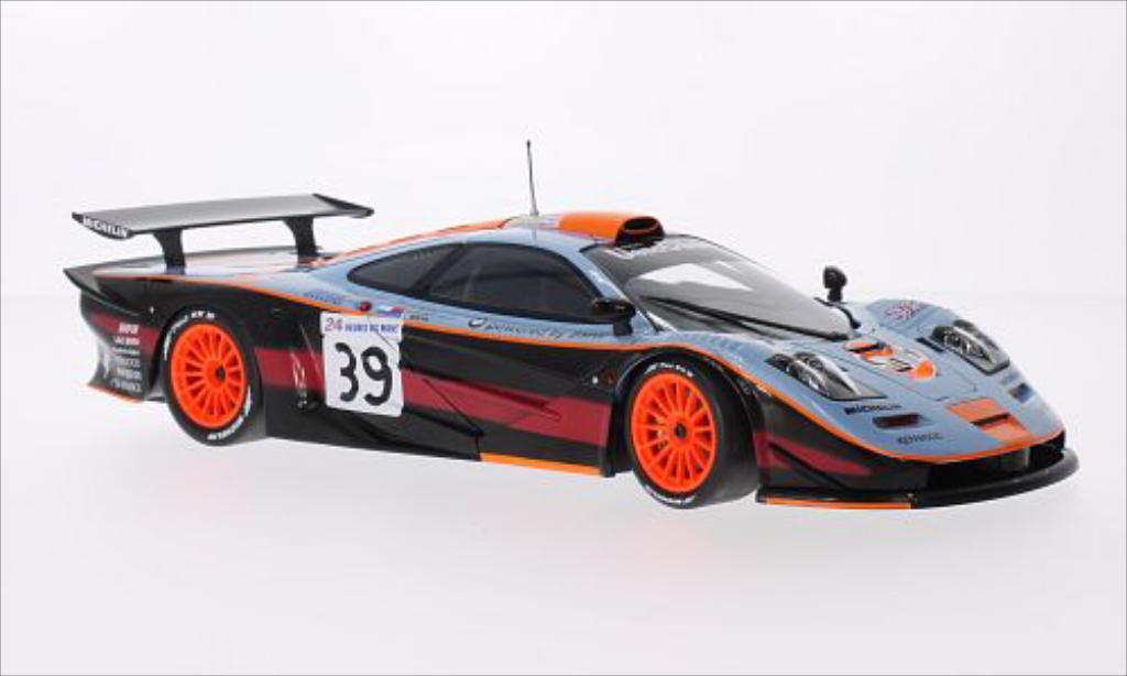 McLaren F1 1/18 Minichamps GTR No.39 Team Davidoff Gulf 24h Le Mans 1997 /A.Gilbert miniature