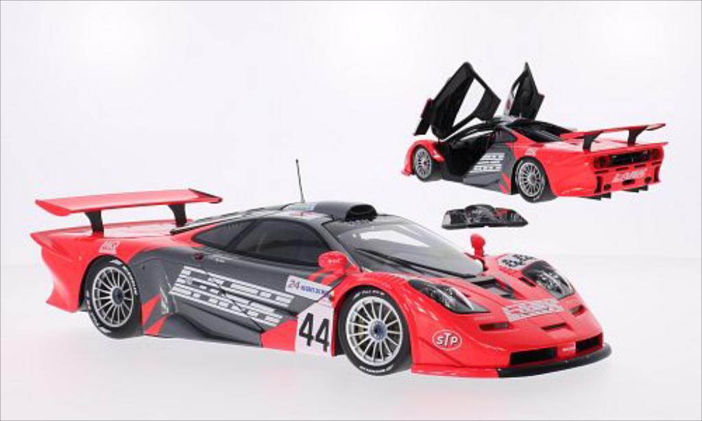 McLaren F1 1/18 Minichamps GTR No.44 Team LARK 24h Le Mans 1997 /A.Nakaya diecast model cars