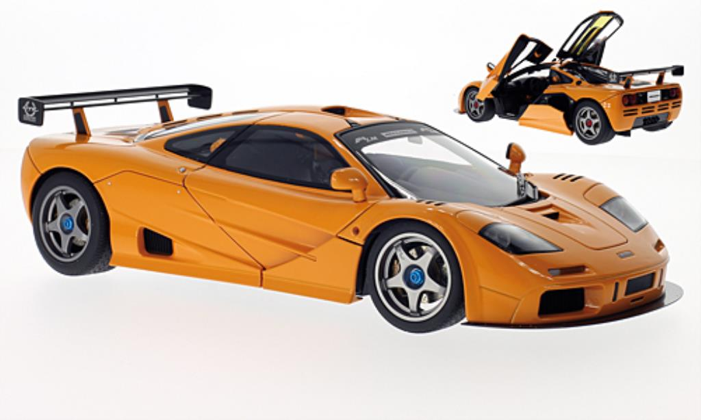 McLaren F1 1/18 Autoart LM Edition orange 1995 miniature