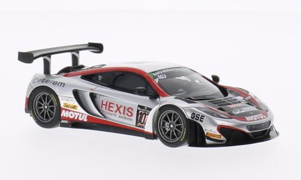McLaren MP4-12C 1/43 Minichamps GT3 No.107 Hexis Racing 24h Spa 2013 /Ledogar diecast model cars
