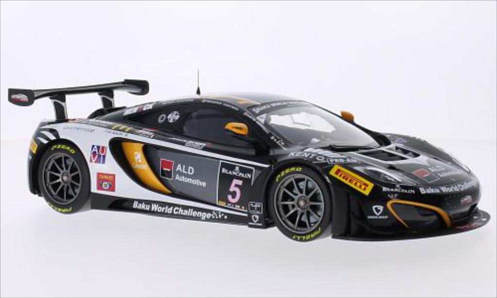 McLaren MP4-12C 1/18 Minichamps GT3 No.5 Boutsen Ginion Racing 24h Spa 2013 /K.Wauters miniature