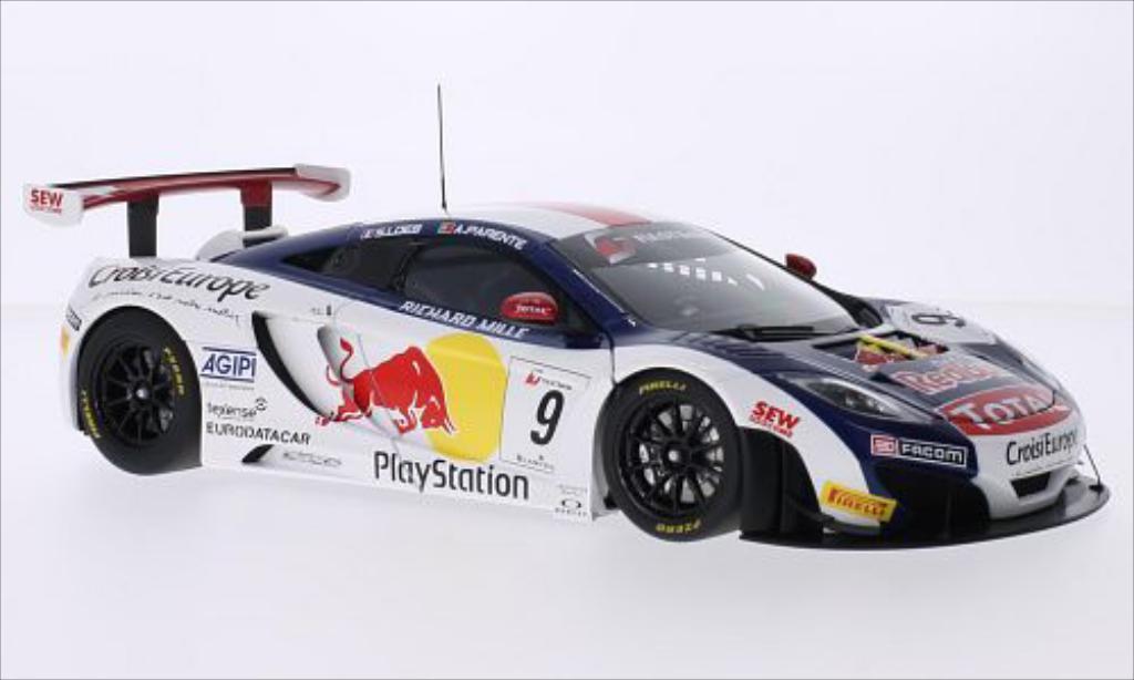 McLaren MP4-12C 1/18 Autoart GT3 No.9 Red Bull Red Bull Tour 2013 /A.Parente miniature