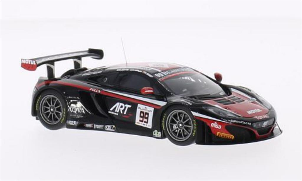 McLaren MP4-12C 1/43 Minichamps GT3 No.99 Team Art Grand Prix 24h Spa 2014 /A.Soucek miniature