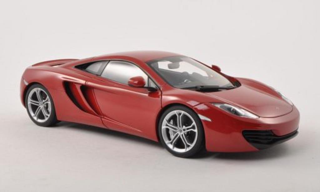 McLaren MP4-12C 1/18 Autoart rouge 2011 miniature