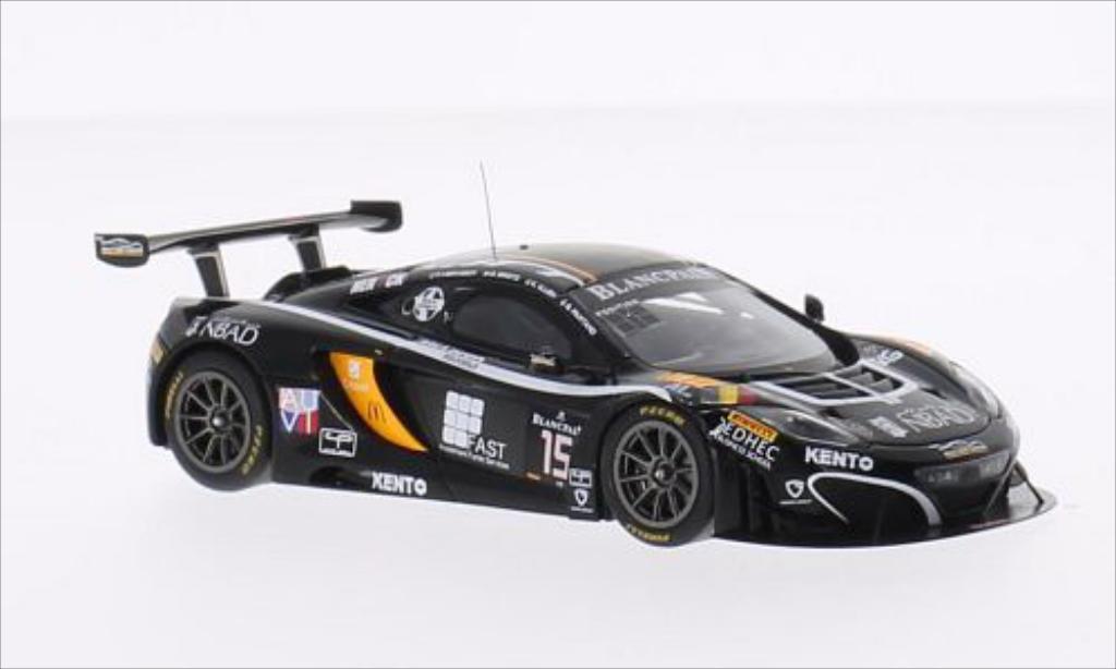 McLaren MP4-12C 1/43 Spark No.15 Boutsen Ginion 24h Spa 2014 miniature