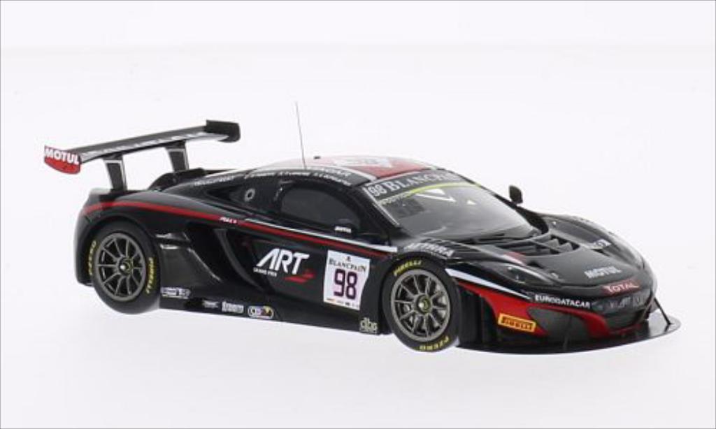 McLaren MP4-12C 1/43 Spark No.98 ART Grand Prix 24h Spa 2014 /A.Parente