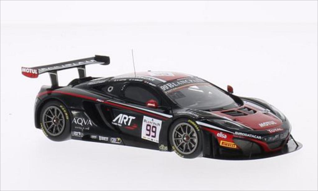McLaren MP4-12C 1/43 Spark No.99 ART Grand Prix 24h Spa 2014 /K.Estre miniature