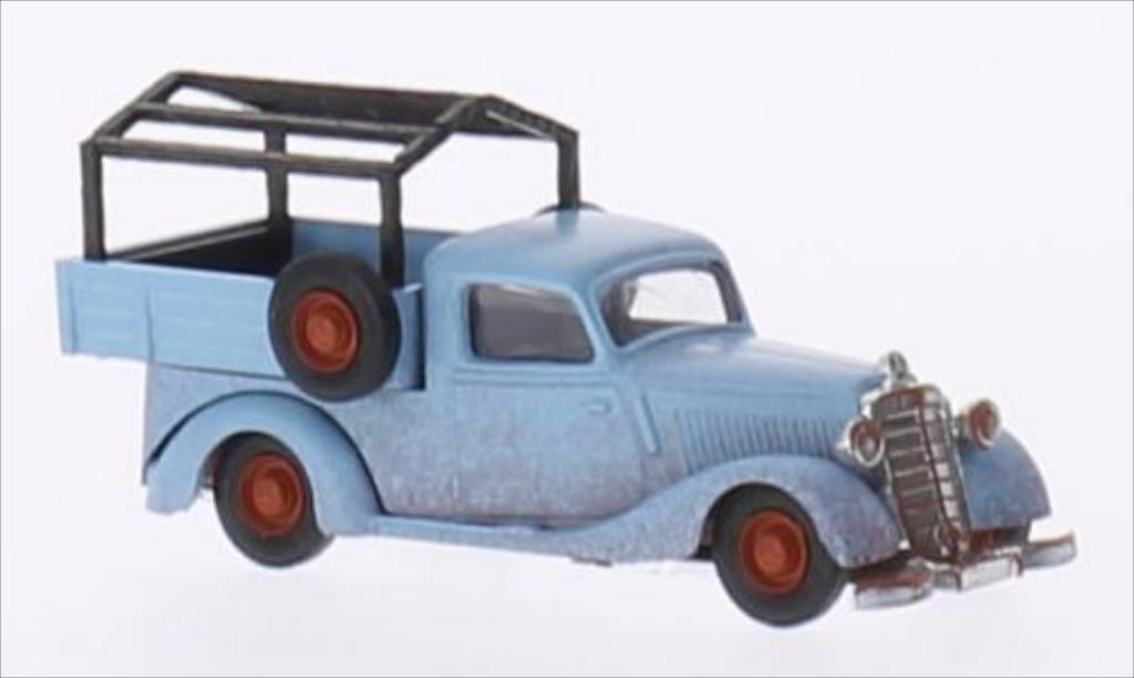 Mercedes 170 1/87 Busch V Pick Up bleu 1936 miniature