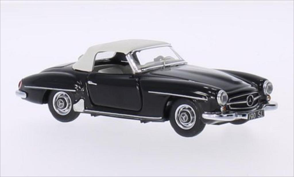 Mercedes 190 SL 1/43 Rio (W121 BII) negro 1959 miniatura