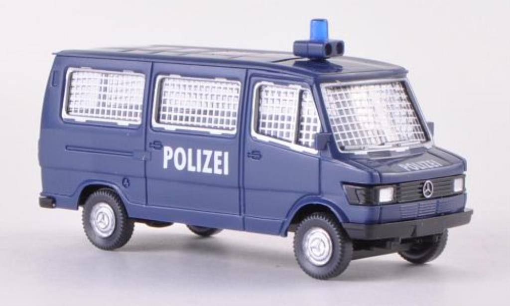 Mercedes 207 D 1/87 Wiking Bus Polizei miniature