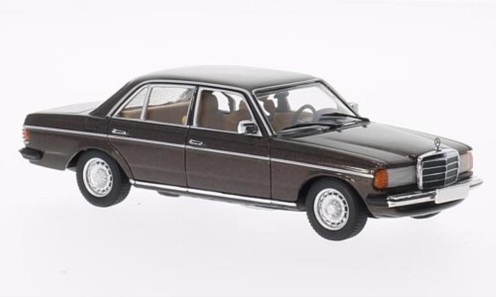 Mercedes 280 1/43 Minichamps E (W123) brown 1976 diecast