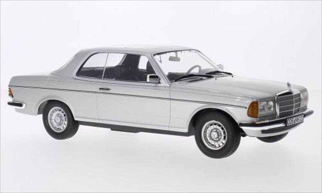 Mercedes 280 1/18 Norev (W123) CE grey 1980 diecast model cars