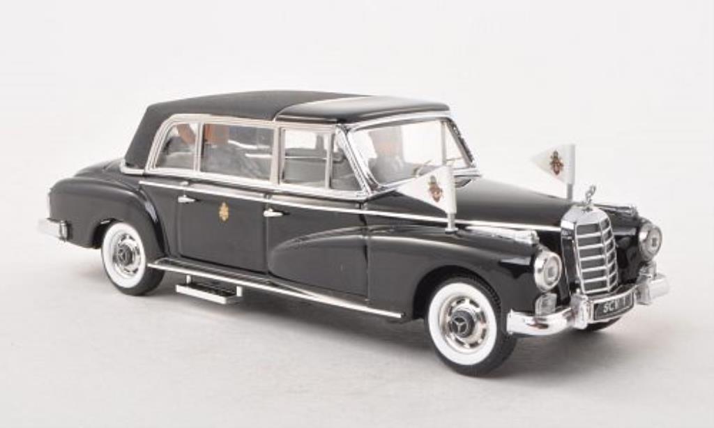 Mercedes 300 1/43 Rio d Pullman Landaulet Papst Johannes XXIII. 1963 miniature
