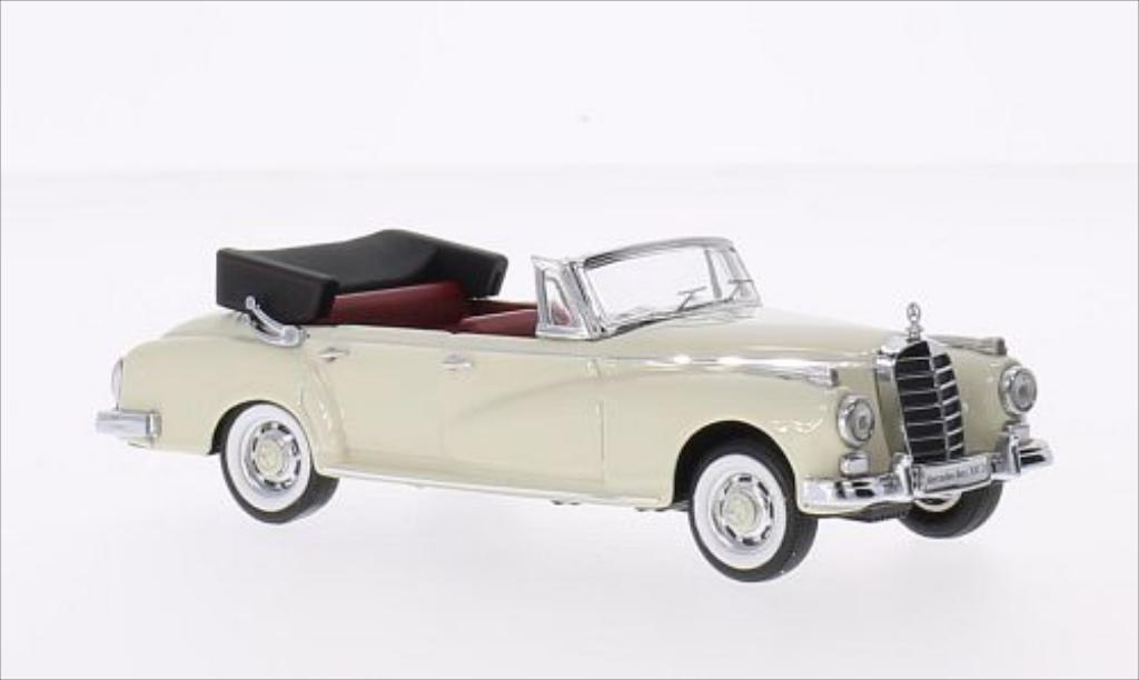 Mercedes 300 D 1/43 Rio (W189) Cabriolet blanche 1958 miniature