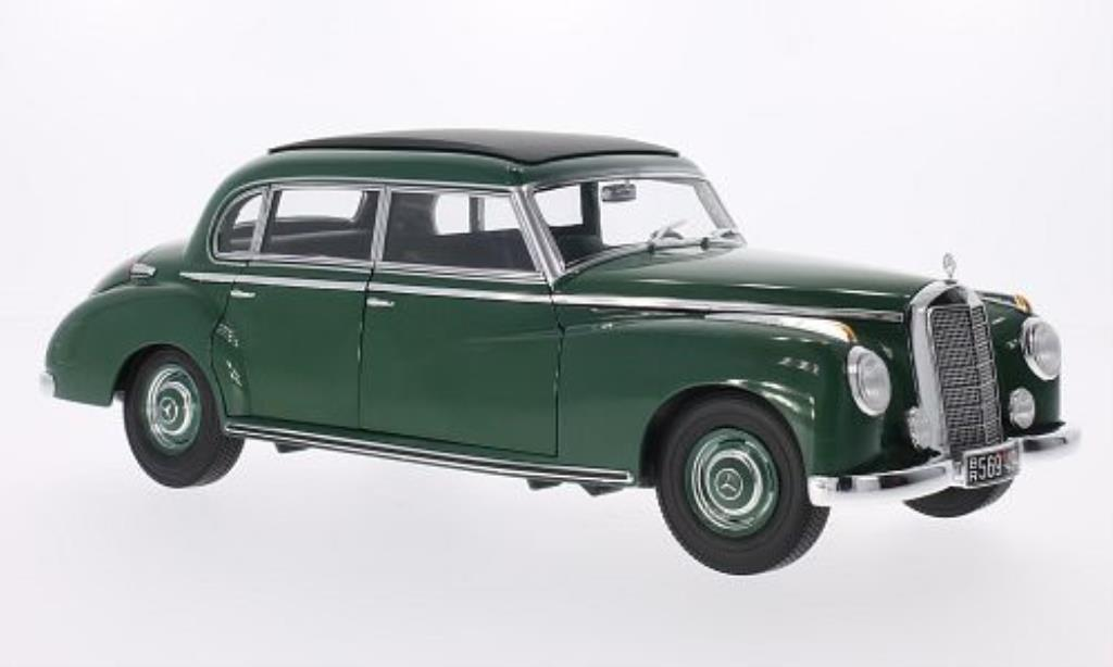 Mercedes 300 1/18 Norev grun 1955 miniature