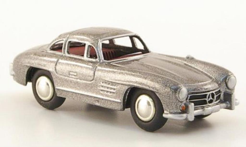 Mercedes 300 SL 1/87 Bub SL (W 198) grise miniature