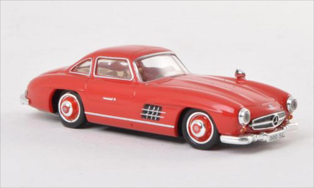 Mercedes 300 SL 1/87 Ricko (W198) rouge 1954 miniature