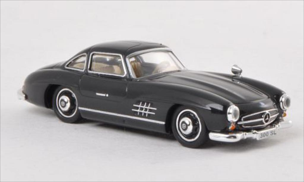 Mercedes 300 SL 1/87 Ricko SL (W198) noire miniature