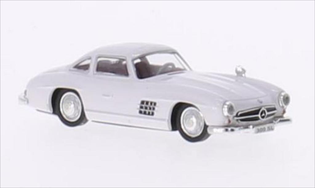 Mercedes 300 SL 1/87 Ricko (W198) blanco 1954 miniatura