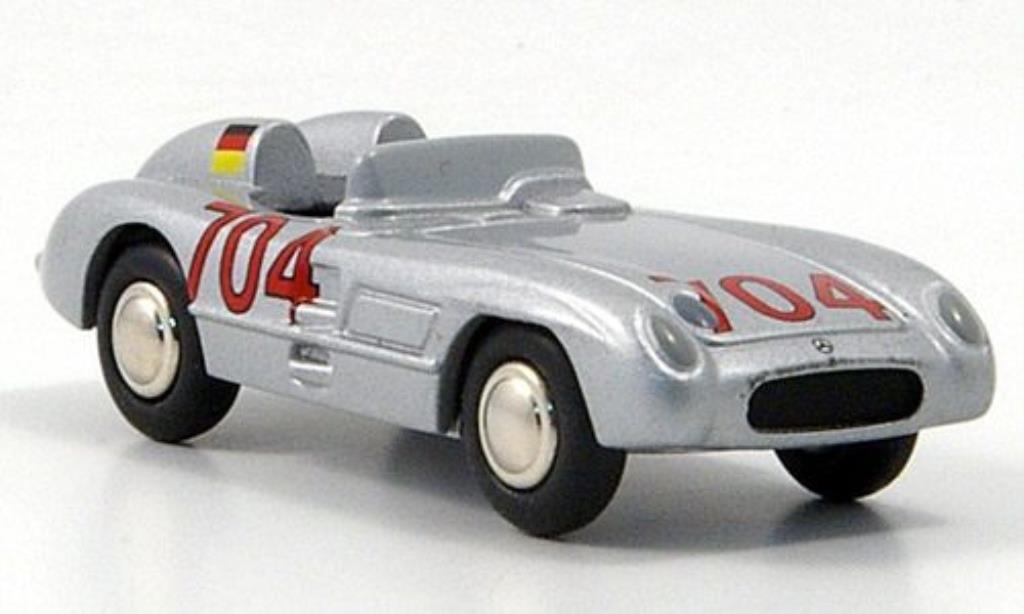 Mercedes 300 SLR 1/87 Bub SLR No.704 Hans Herrmann Mille-Miglia 1955 miniature