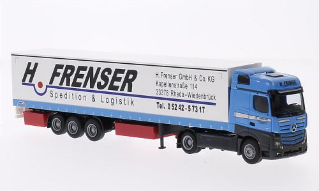 Mercedes Actros 1/87 AWM 2 Big./Aerop. G-KSZ Frenser miniature