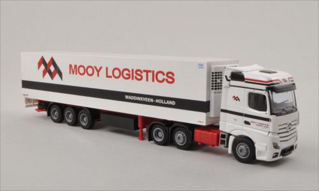 Mercedes Actros 1/87 AWM 2 Bigspace Mooy (NL) Kuhl-KSZ miniature