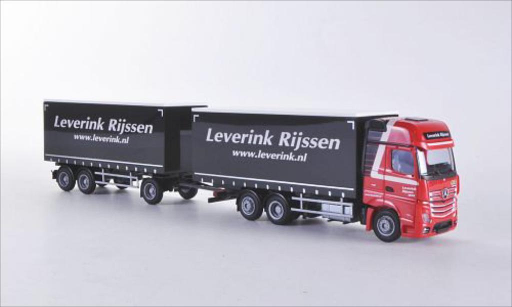 Mercedes Actros 1/87 AWM 2 Giga. Leverink Rijssen (NL) G-KHZ miniature