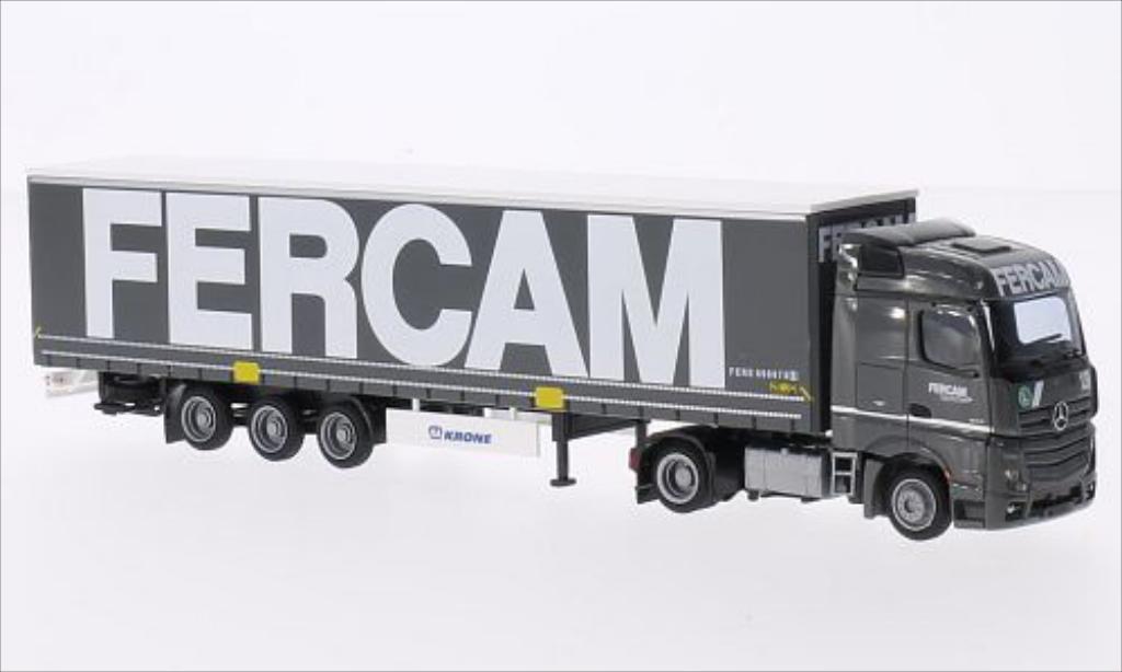 Mercedes Actros 1/87 AWM 2 Streamliner Aerop. FERCAM miniature