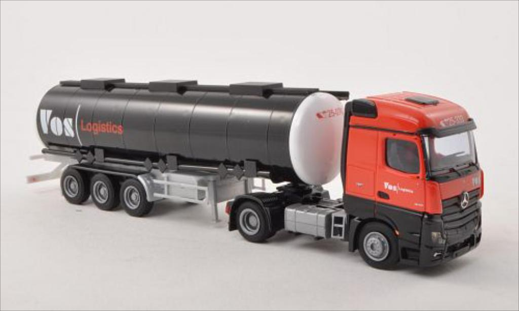Mercedes Actros 1/87 AWM 2 Streamspace Vos Logistics Tank-SZ diecast model cars
