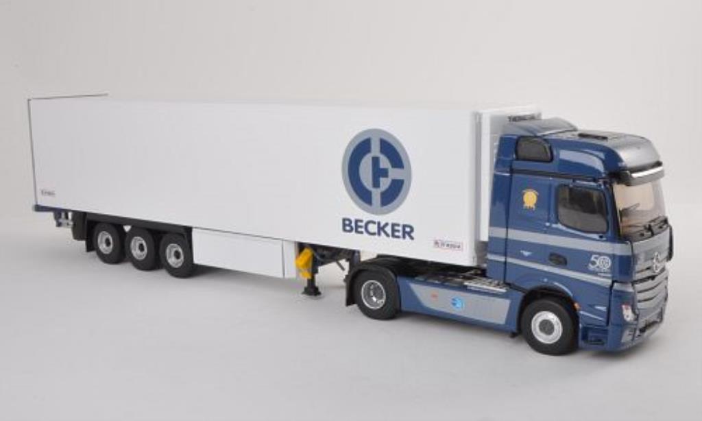 Mercedes Actros 1/43 Eligor 2 Transports Becker Kuhlkoffer-SZ miniature
