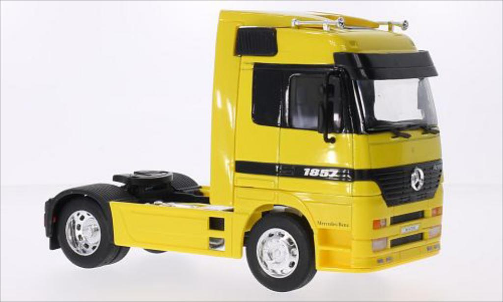 Mercedes Actros 1/32 Welly jaune miniature