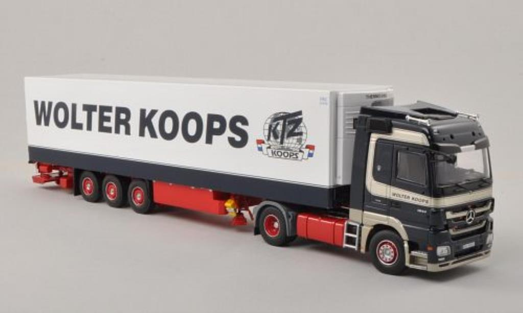 Mercedes Actros 1/50 Tekno LH MP3 Wolter Koops (NL) Kuhlkoffer-SZ miniature