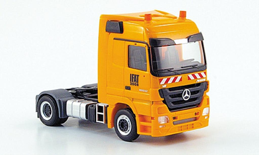 Mercedes Actros 1/87 Herpa LH Zugmaschine Kommunal IFAT miniature