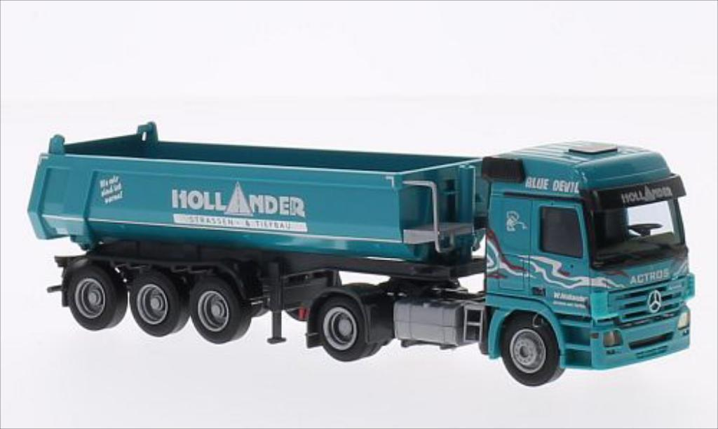 Mercedes Actros 1/87 AWM MP 2 L Hollander (C)Mulden-SZ miniature