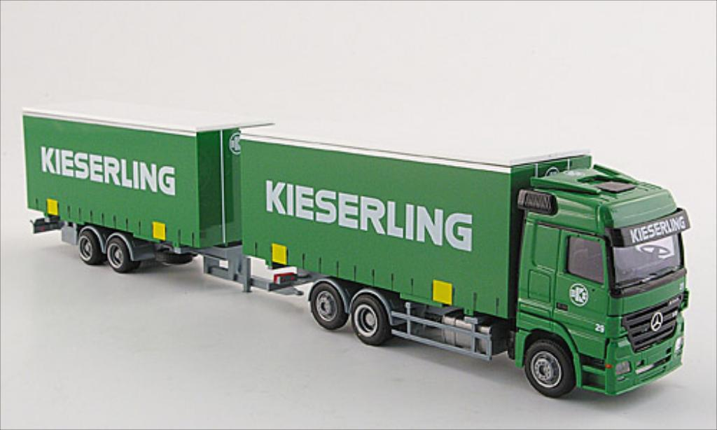 Mercedes Actros 1/87 AWM MP 2 LH G-KTaHZ Kieserling miniature