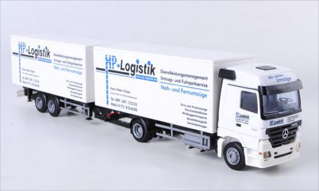 Mercedes Actros 1/87 AWM MP2-LH KTaHZ HP Logistik miniature