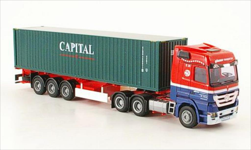 Mercedes Actros 1/87 AWM MP3 ERA Transport Container-SZ miniatura