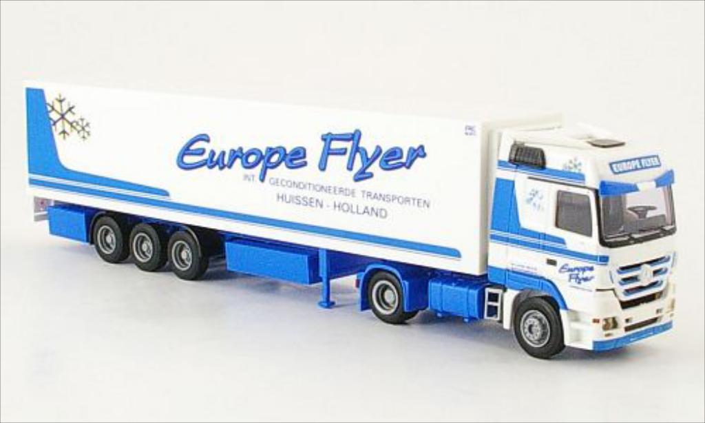 Mercedes Actros 1/87 AWM MP3 Europe Flyer Kuhl-K-SZ miniature