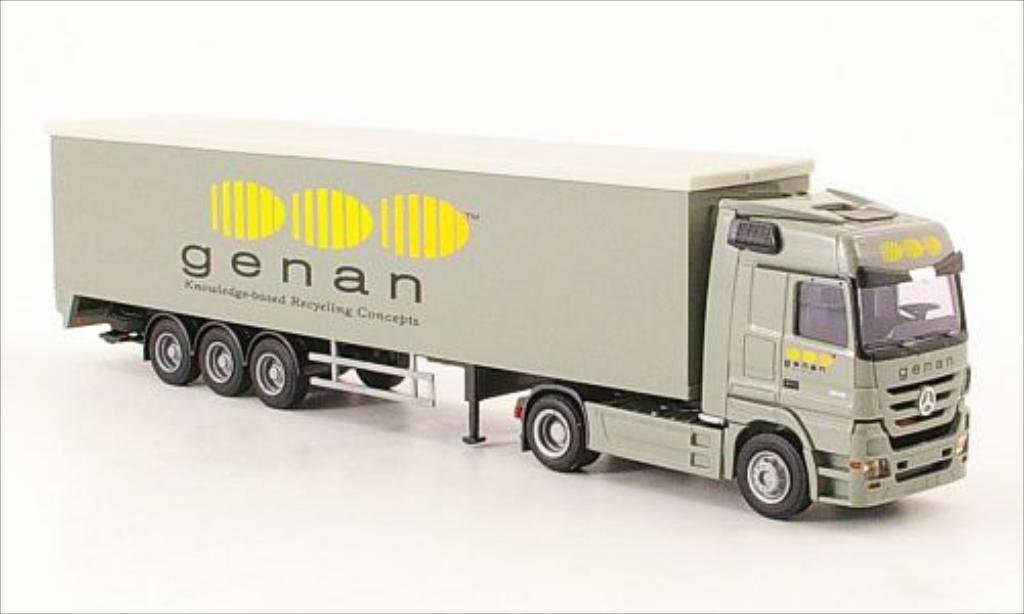 Mercedes Actros 1/87 AWM MP3 genan Schubboden-SZ diecast model cars