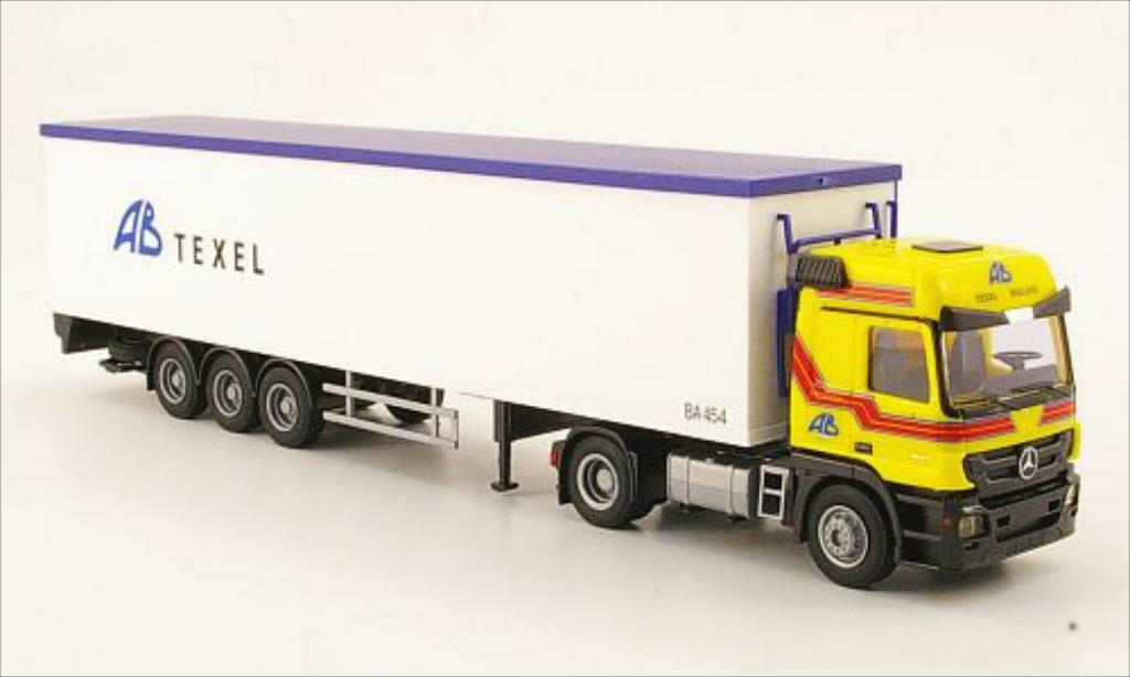 Mercedes Actros 1/87 AWM MP3 L AB Texel Schubboden-SZ diecast