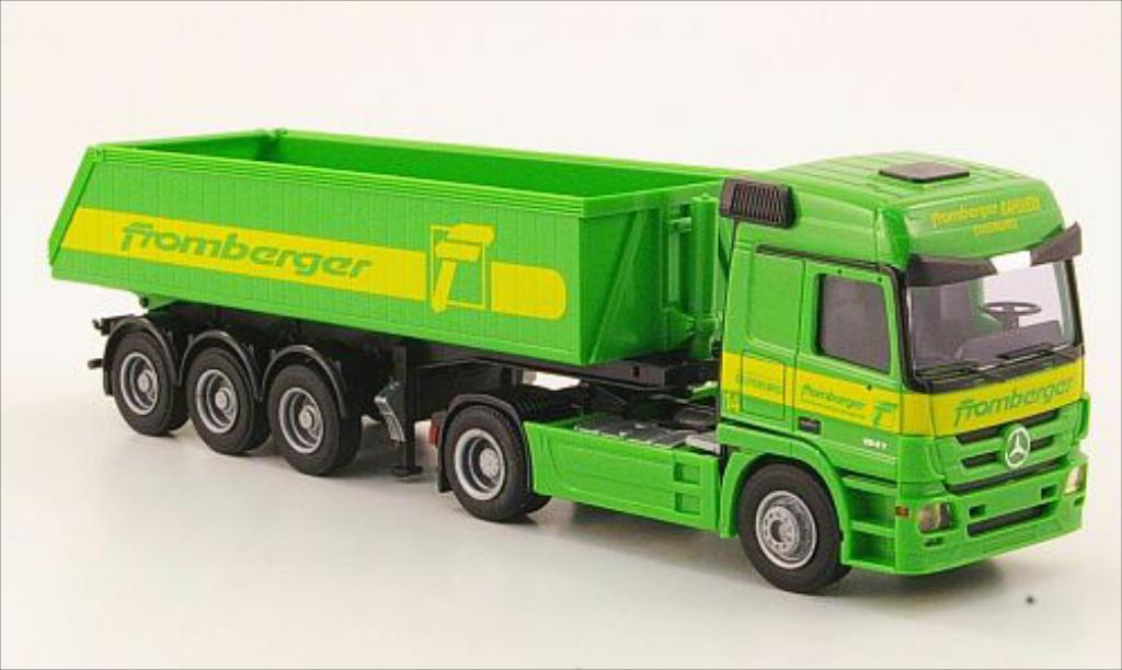 Mercedes Actros 1/87 AWM MP3 L Fromberger Eckmulden-SZ miniature