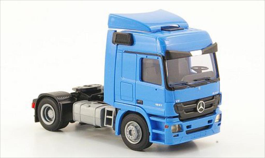 Mercedes Actros 1/87 AWM MP3 L mit Windleitblechen bleu miniature