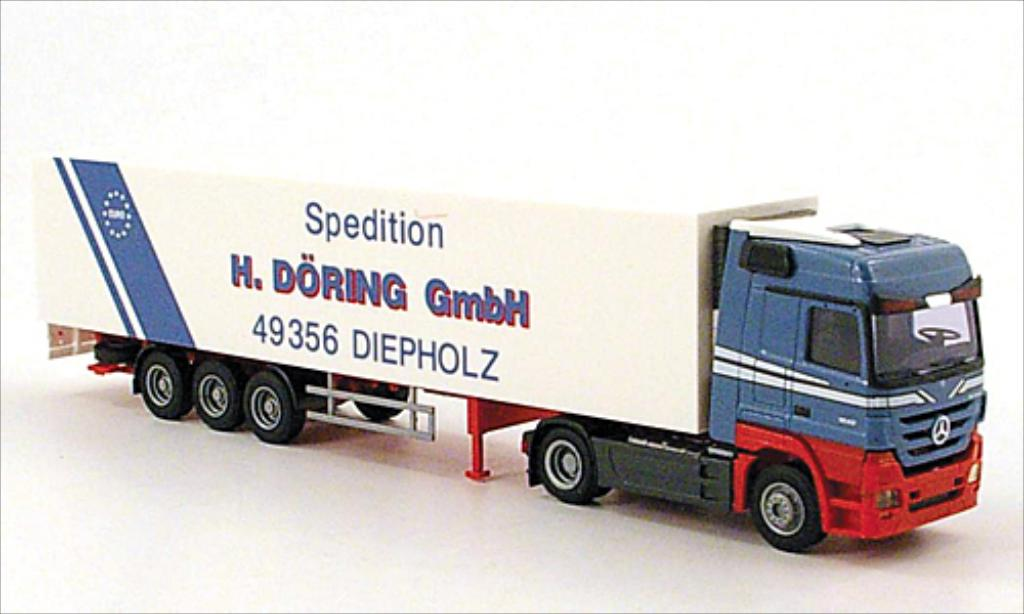 Mercedes Actros 1/87 AWM MP3 LH/Aerop. Doring Kuhl-KSZ miniature