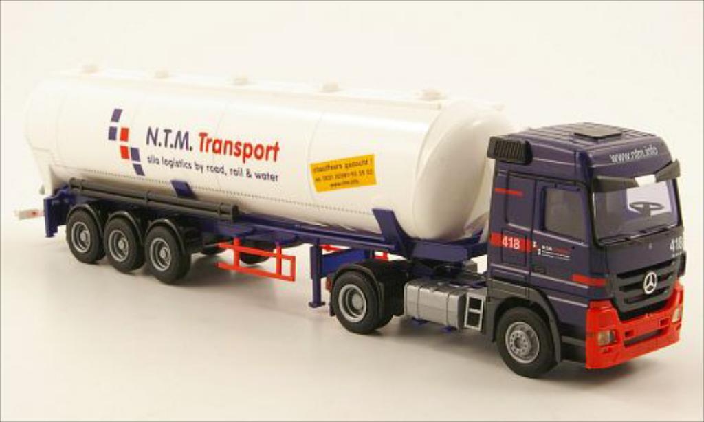 Mercedes Actros 1/87 AWM MP3 LH N.T.M. Transport (NL) Kippsilo-SZ diecast