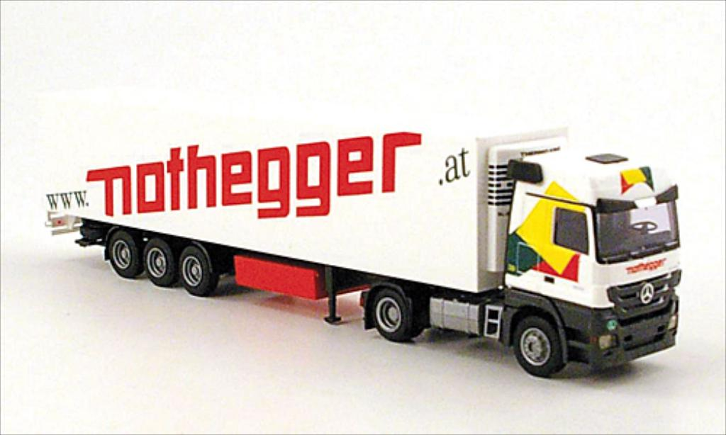 Mercedes Actros 1/87 AWM MP3 LH Nothegger Kuhl-KSZ miniature