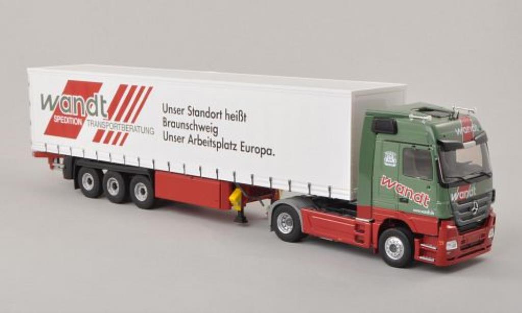 Mercedes Actros 1/43 Eligor MP3 Spedition Wandt Gardinenplanen-Sattelzug limitierte Auflage 99 Stuck miniatura