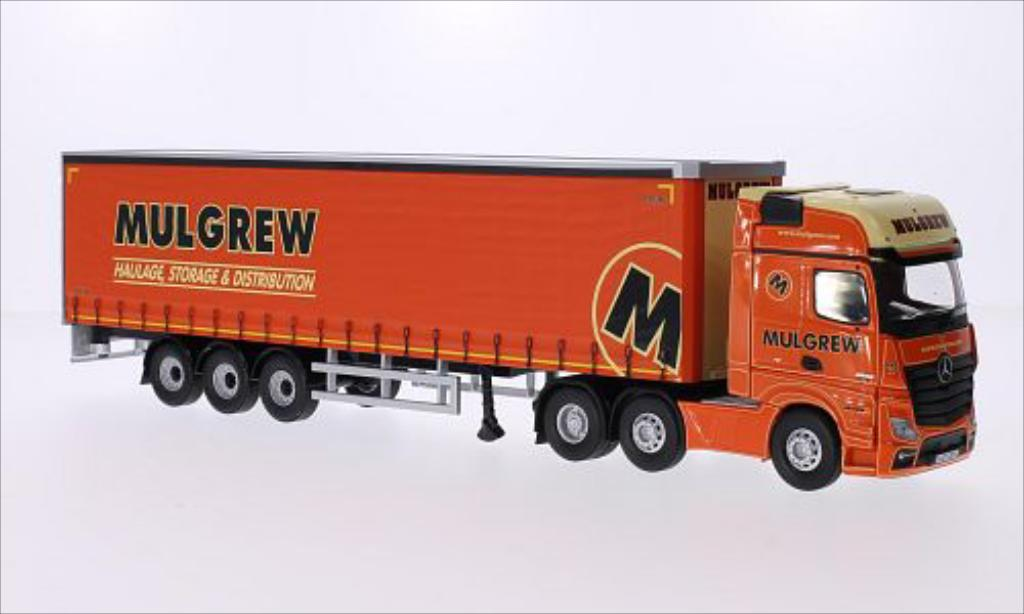 Mercedes Actros 1/50 Corgi (MP4) 2545 RHD Mulgrew Haulage diecast model cars