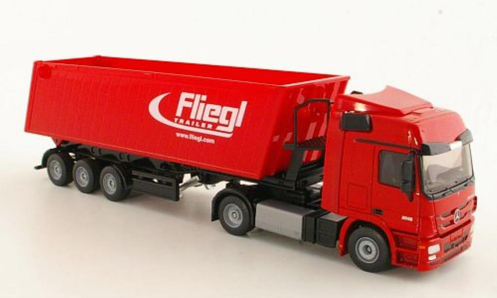 Mercedes Actros 1/50 Siku Muldenkipper Fliegl diecast model cars